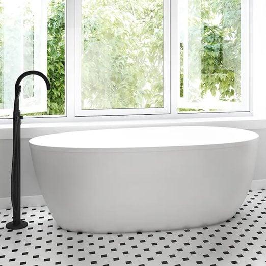 Stretto Freestanding Soaking Jacuzzi Bathtub