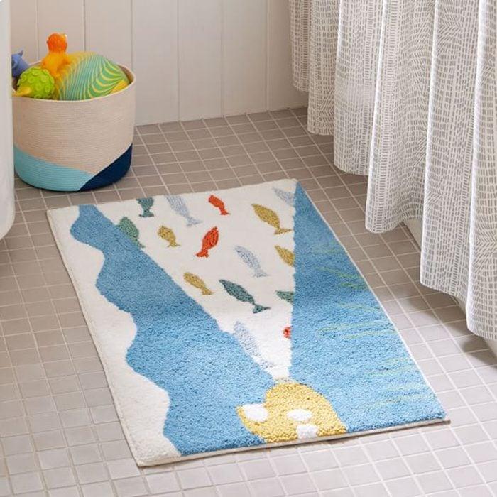 West Elm Aquatic Bath Mat