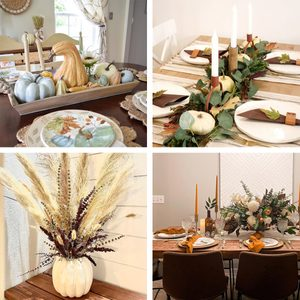 10 Thanksgiving Centerpiece Ideas To Complete Your Holiday Table